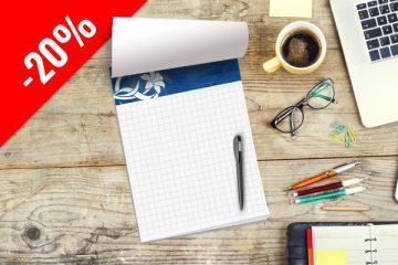 stampa block notes personalizzati bologna