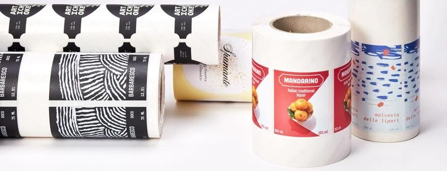 stampa etichette adesive in bobina bologna