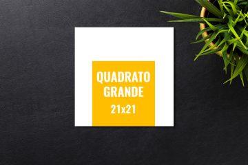 stampa volantini quadrati 21x21 bologna